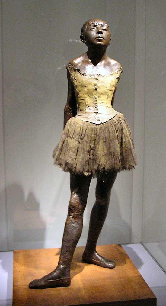 escultura Edgar Degas