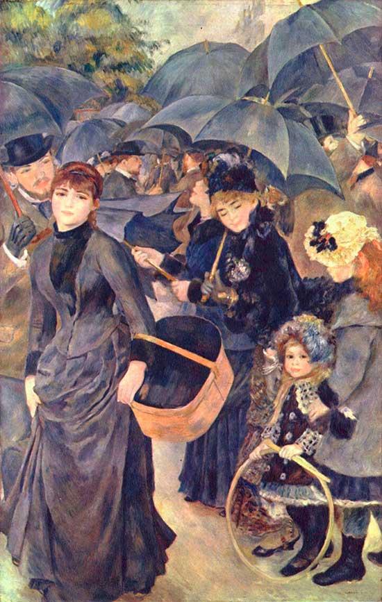Los paraguas de Renoir
