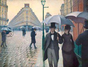 París día de lluvia