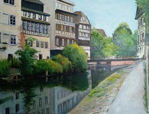 Canal en Estrasburgo
