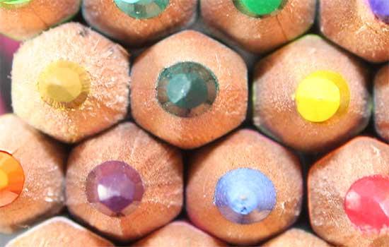 Lápices de colores profesionales