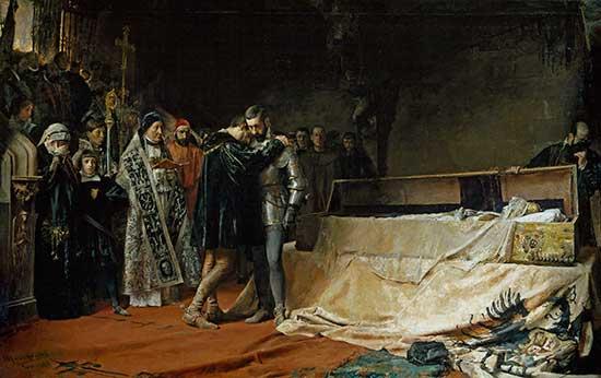 La conversión del duque de Gandía