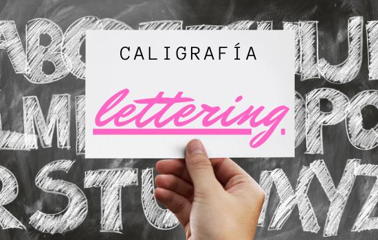 caligrafía lettering