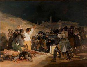 Los fusilamientos del 3 de Mayo – Goya