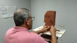 José Chica escultor Málagueño