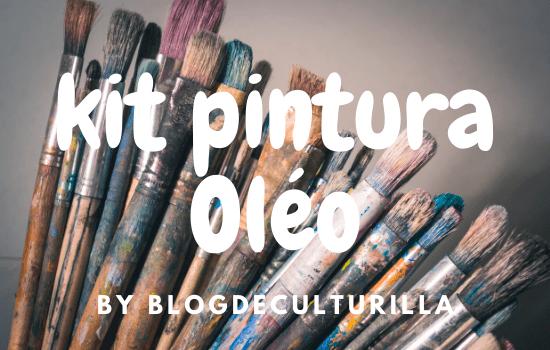 kit pintura óleo