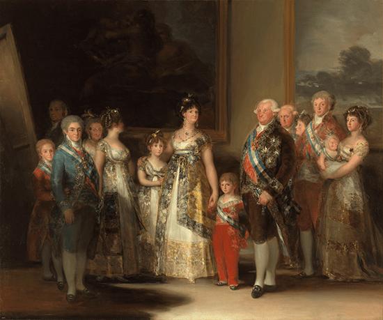 Retrato familia Carlos IV